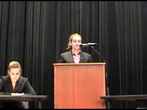 Princeton High School's Spring Debate Part 1