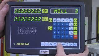 JCS900-2AE DRO - Corrected information on Lathe Use