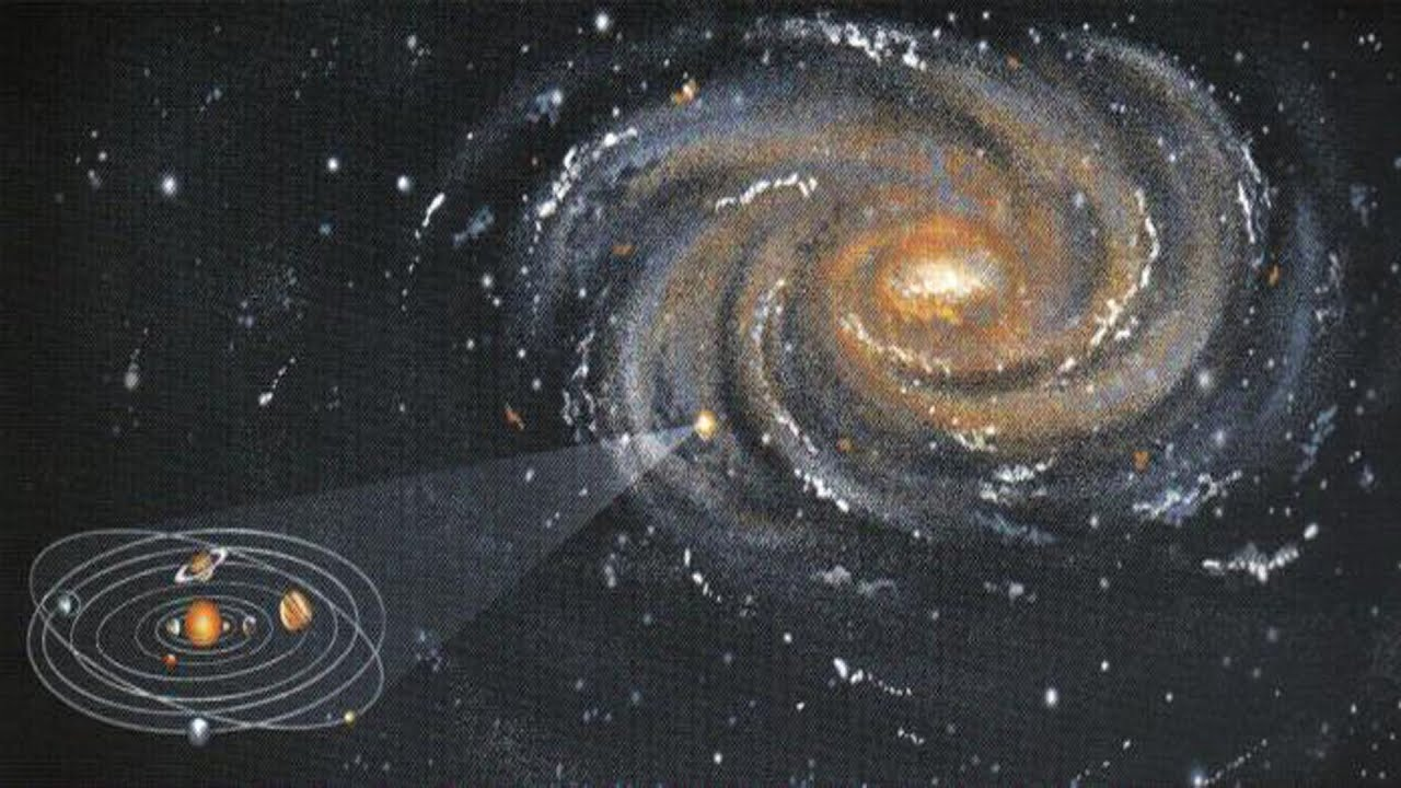 Is Milky Way Galaxy Our Home FLAT EARTH YouTube