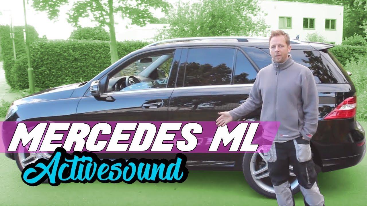 mercedes benz nachr stung v8 motorsound active sound. Black Bedroom Furniture Sets. Home Design Ideas