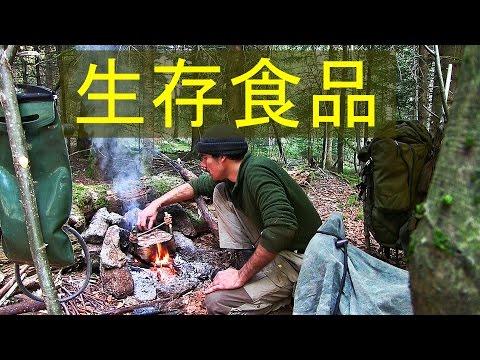 ブッシュクラフト  サバイバル実験 石器時代の生活 食物 肉汁
