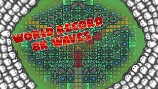 ZOMBS.IO WORLD RECORD (8K WAVES) // NEW BEST UNBEATABLE BASE // Bryan Smith