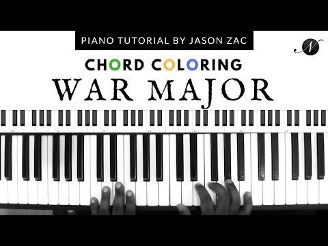 Chord Coloring - War Major - Tritone Usage - Jason Zac - Nathaniel School of Music
