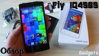 Fly IQ4505 ERA Life 7 Quad Обзор смартфона