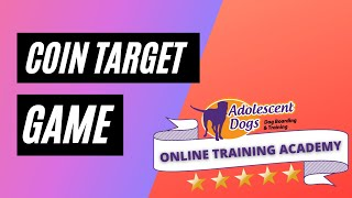 Dog Trick / Shaping Basics - Coin Target Game / Scentwork Indication