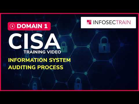 Download CISA DOMAIN 1 | INFORMATION SYSTEM AUDITING PROCESS  | CISA TRAINING VIDEO | INFOSECTRAIN