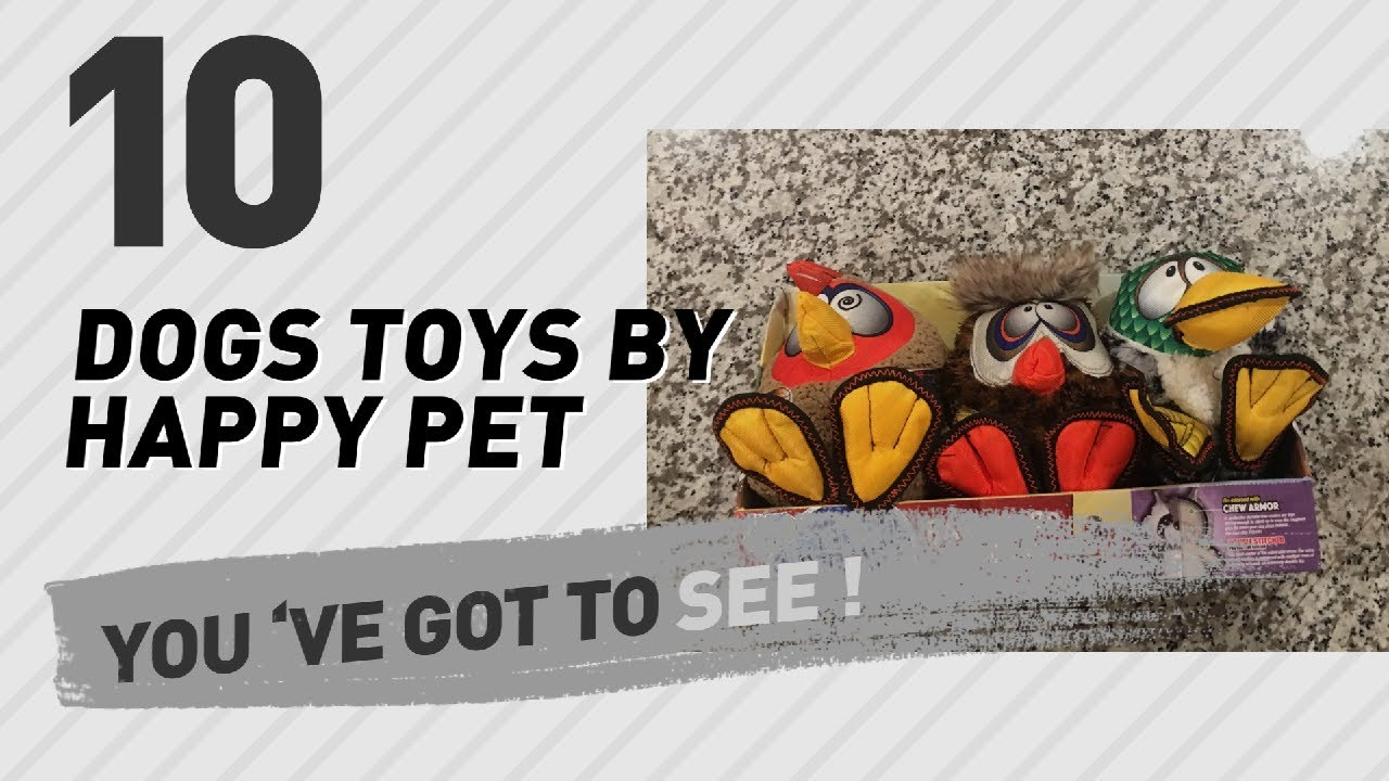 Dogs Toys By Happy Pet Pets Lovers Most Popular