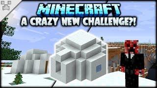 AN INSANE NEW MINECRAFT CHALLENGE?!   Minecraft: The Snowy Isles (ULTRA-HARDCORE Survival)