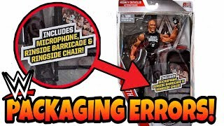 WWE Action Figure PACKAGING ERRORS!!!