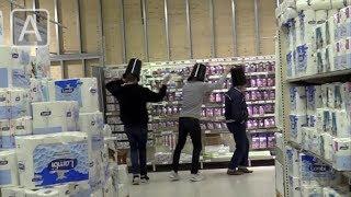 Skjult kamera: Bøtter i Sverige