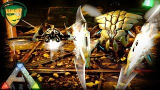 ARK AMAZING NEW TEK CREATURES! TEK ATTACK DRONE AND TEK DEFENSE UNIT - ENDGAME CREATURES FIRST LOOK!