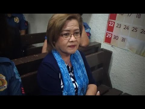 De Lima seeks protection of human rights defenders