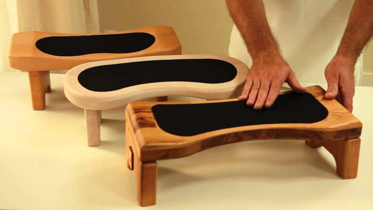 Bancos de meditaci n yogaconfort de venta en ebay youtube for Pisos en silla de bancos