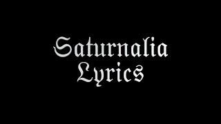 Marilyn Manson - Saturnalia - Lyrics