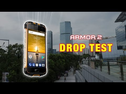 Rugged Ulefone Armor 2 Survives various Drop Tests in real life