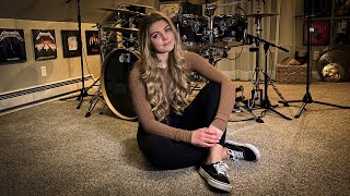 "METALLICA ""Blackened"" Drum Cover~Brooke C"