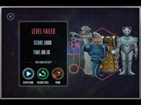 Osgood And The Angels (Doctor Who PC browser game)