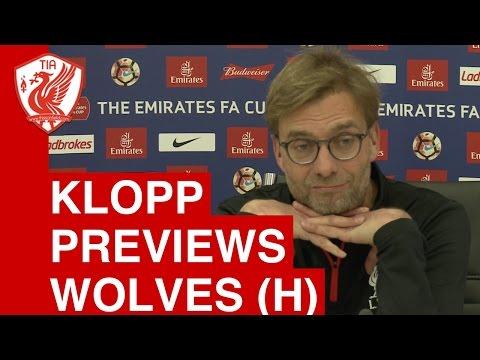 Liverpool vs. Wolves - Jurgen Klopp Pre-Match Press Conference