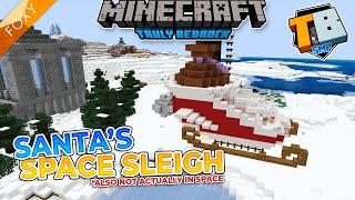 BUILDING SANTA'S SLEIGH | Truly Bedrock Season 2 [58] | Minecraft Bedrock Edition