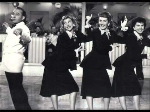 Anything you can do, I can do better - Bing Crosby & The Andrews Sisters (1947)
