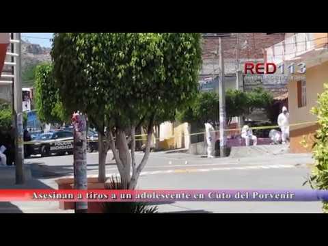VIDEO Asesinan a tiros a un adolescente en Cuto del Porvenir