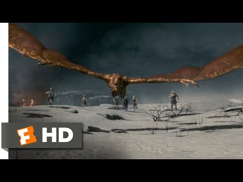 Beowulf (9/10) Movie CLIP - Dragon Flight (2007) HD