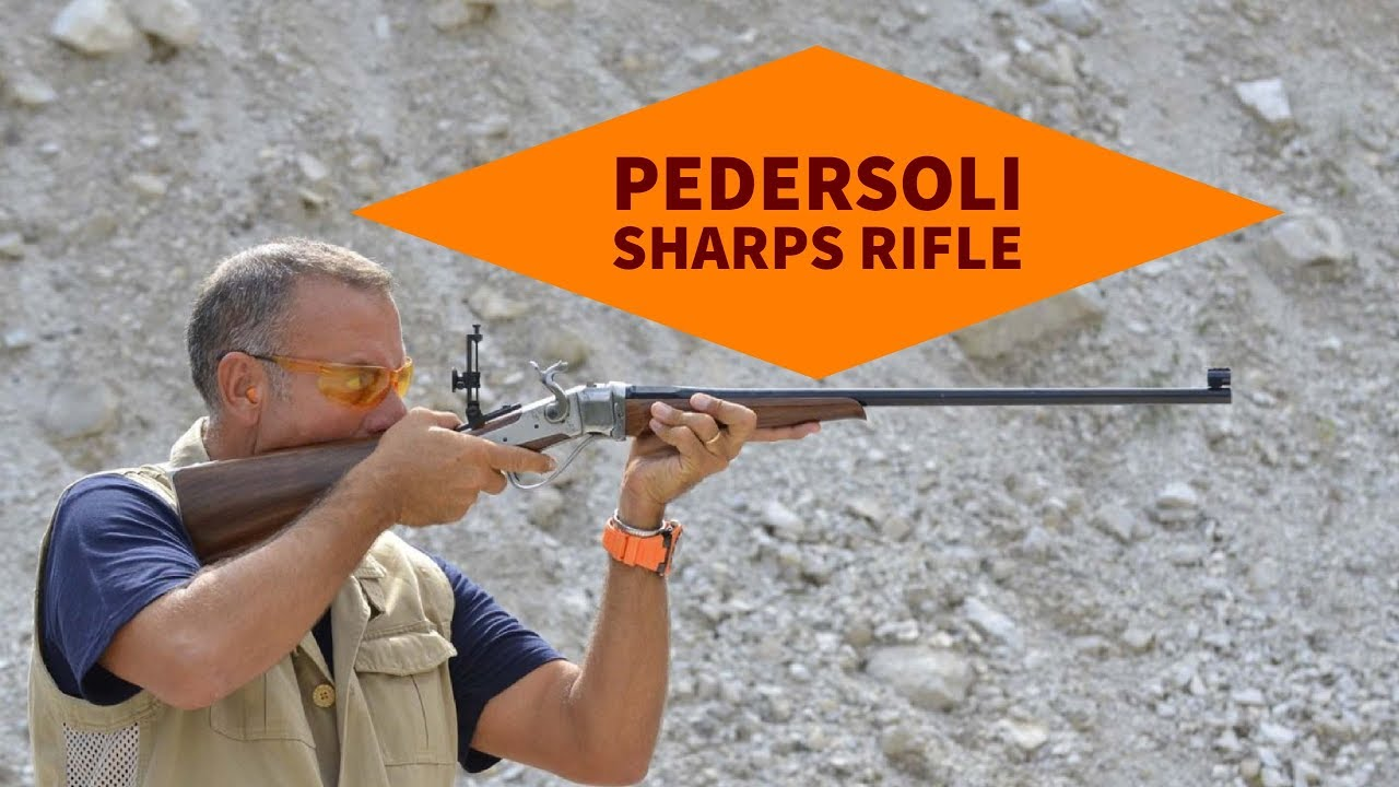 Three sides of Pedersoli Sharps - all4shooters