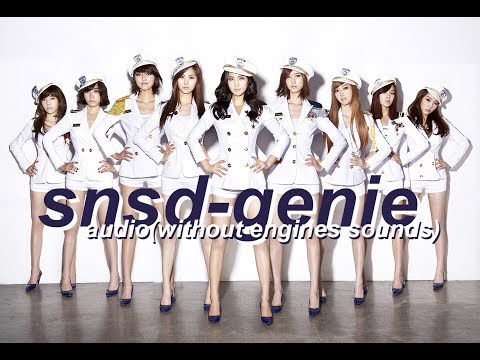 Girls' Generation (소녀시대) - Genie (소원을말해봐) [AUDIO] [NO ENGINE SOUNDS] [WITH LYRICS] [DL LINKS] [HD]