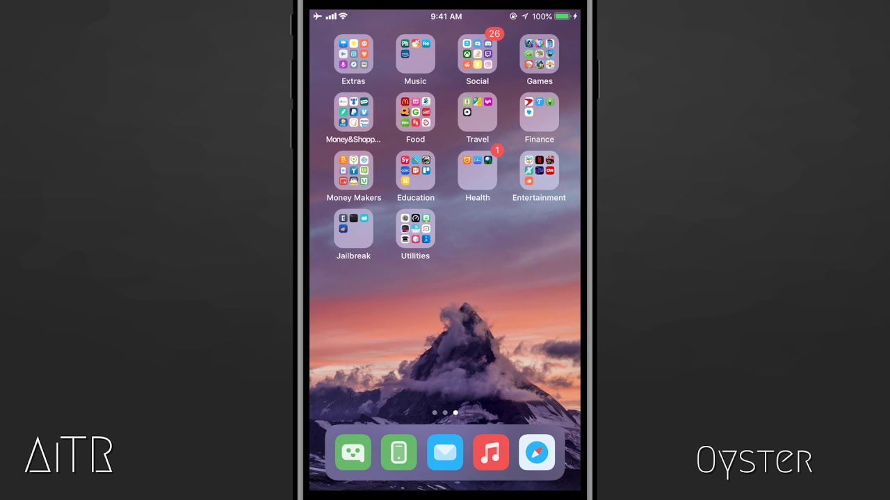 best anemone themes ios 11 iphone x
