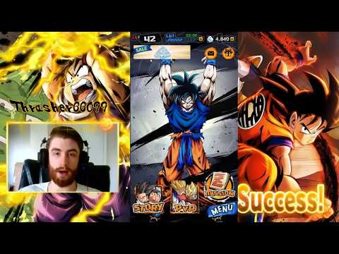 DB Legends - How To Transfer Device Account Data And Free Chrono Crystals Dragon Ball Legends