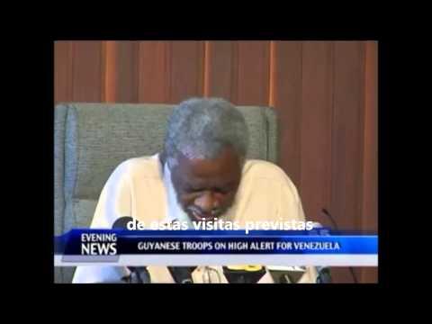 Noticias de Guyana sobre Acto d Soberanía d Movida Parlamentaria y d ntra ONG 14 Nov