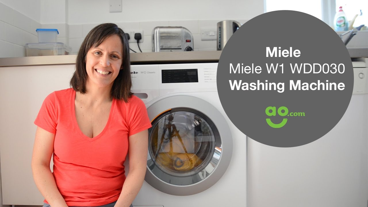 Review Of The Miele W1 Wdd030 Washing Machine For Ao Com Youtube