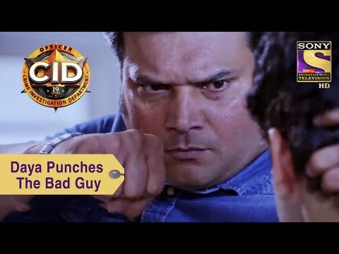 Your Favorite Character | Daya Punches The Bad Guy | CID thumbnail