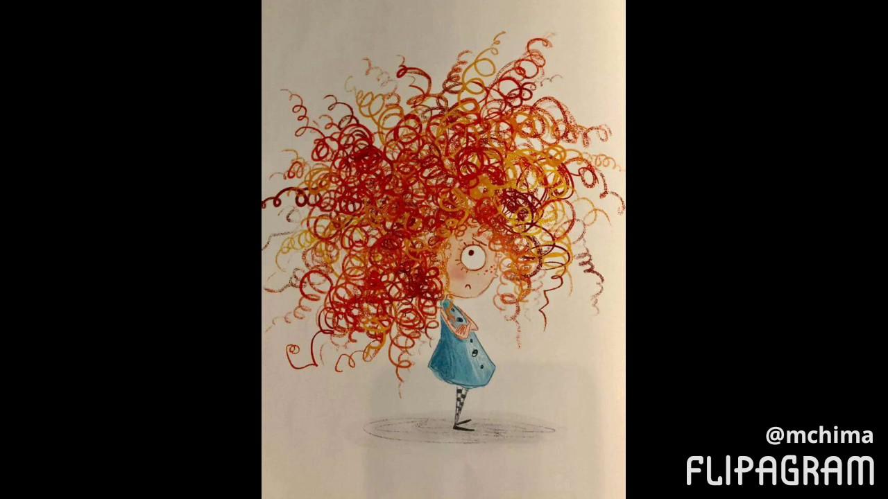 No me gusta mi cabello rizado cuento
