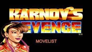 Karnov's Revenge Movelist: Feilin's Special Moves