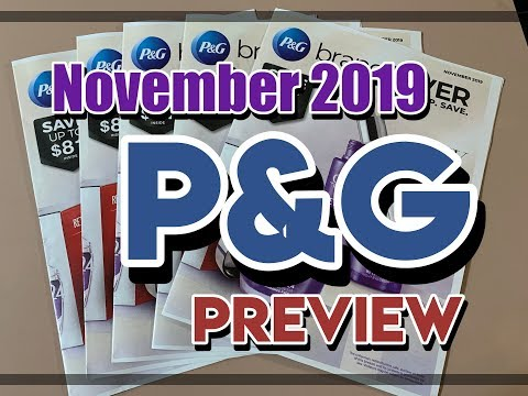 November P&G Preview // $2 off Crest, $4 Venus Daisy // Shop with Sarah // 10-21