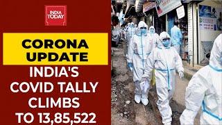 Covid-19 Tracker: India's Coronavirus Tally Is Now Edging Towards 14 Lac Mark