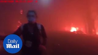 Police officer's daring escape from Paradise wildfire horror