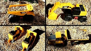 Digger and Farm Toy Collection - It's a Barley Box! (Dump Trucks, Tractors & Excavator Digger Toys)