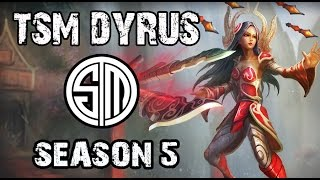TSM Dyrus Irelia vs Sion TOP Ranked Challenger NA