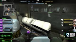 Liga GamesAcademy CS:GO #2 - Qualificatório III - HoldStrong x unGlory