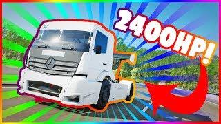 FORZA HORIZON 4 - CIĘŻARÓWKA I 2400HP SWAP!!!