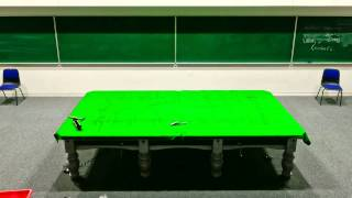 Setting Up A Snooker Table (time Lapse)