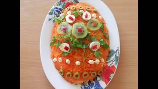 Очень вкусный праздничный  салат