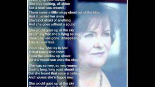 Susan Boyle ~ Vapor Trail (with lyrics)