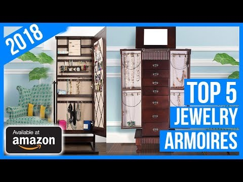 Best Jewelry Armoires in 2018 | Best Jewelry Cabinets Reviews & Buyer's Guide