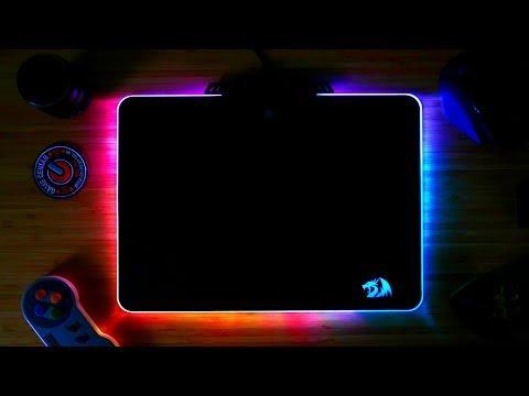 REDRAGON KYLIN RGB // najlepša podloga za miš - UNBOXING - 4K