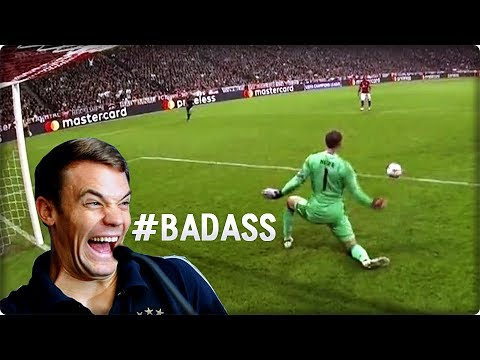 TOP 25 Badass Goalkeeper Saves of the Season 2017
