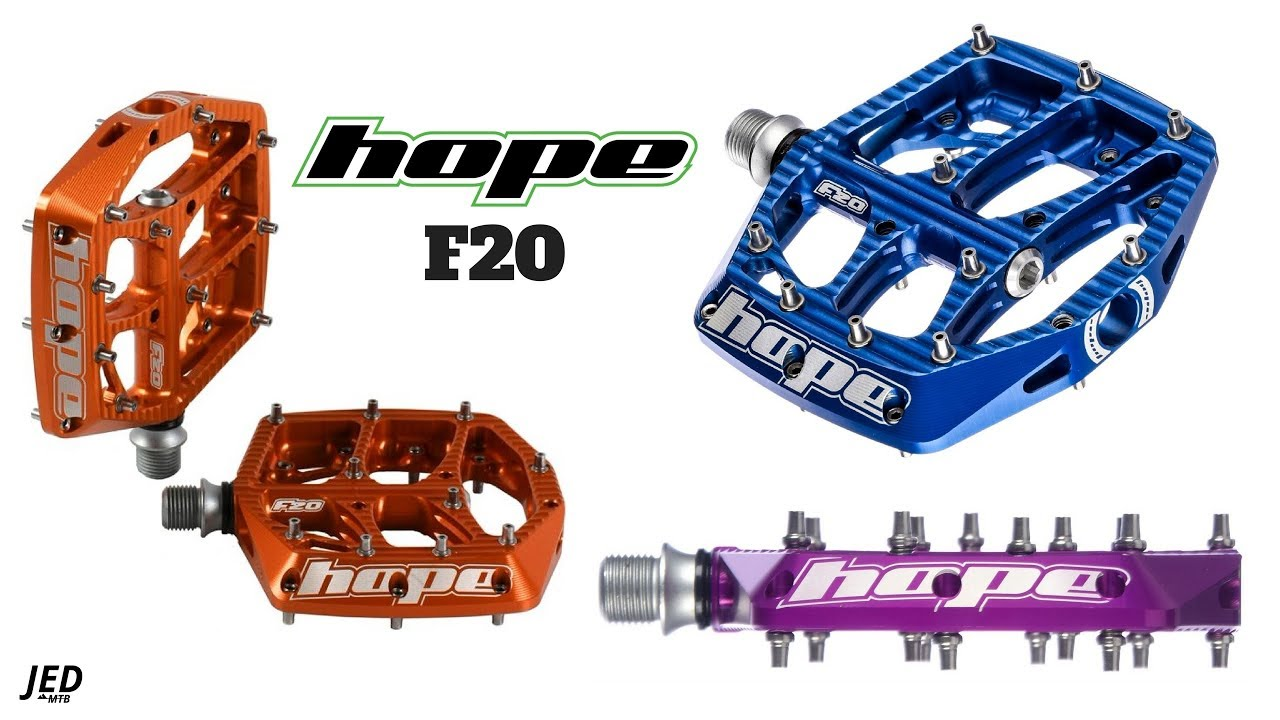 Hope F20 Pedals Youtube