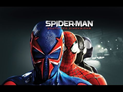 Spiderman Shattered Dimensions Pelicula Completa Español HD - Full Movie - Game Movie